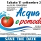 Evento: Acqua e Pomodoro - Risorsa idrica, colture di qualità, economia, ambiente